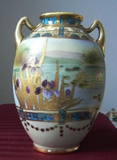 Old Noritake vase